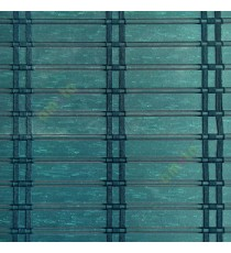 Dark green color horizontal stripes flat scale vertical thread stripes cylinder stick rollup mechanism PVC Blinds