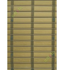 Rollup mechanism peanut brown color with dark brown stripes  PVC blind
