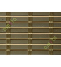Beige with brown stripes PVC blind