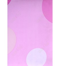 Pink white geometric pattern poly blackout roller blind   109389
