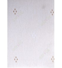 Brown white color diamond with texture blackout poly roller blind   109393