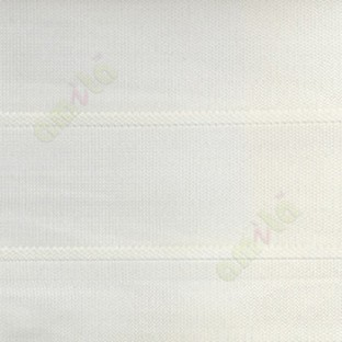 Cream color horizontal stripes double layer texture background triple shade blind