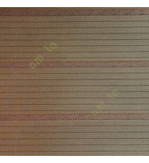 Dark brown color horizontal stripes double layer texture background triple shade blind