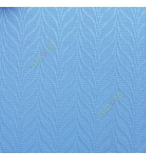 Aqua blue color vertical dome shaped pattern vertical stripes texture finished vertical blind