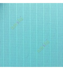 Aqua blue color vertical stripes texture finished surface thick material vertical blind