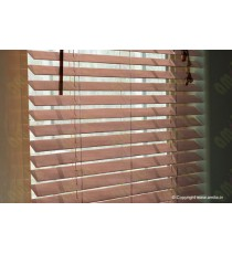 Wooden Blinds 35 mm Venetian Blinds Cinnamon 100084
