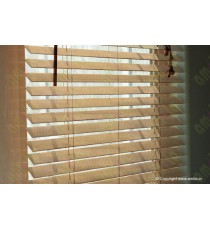 Wooden Blinds 35 mm Venetian Blinds Teak 100093