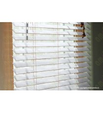 Wooden Blinds 35 mm Venetian Blinds White 100090