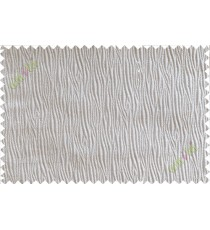 Grey vertical self colour stripes poly main curtain designs