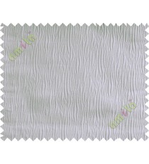 Beige vertical self colour stripes poly main curtain designs