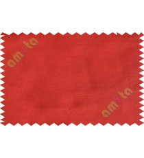 Red colour solid plain texture poly main curtain designs