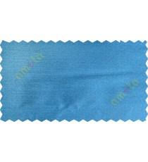Blue colour solid plain texture poly main curtain designs