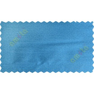 Blue colour solid plain texture poly main curtain designs