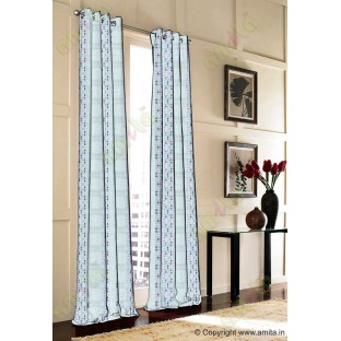 Black green blue white colour bold rain drop stripes with yellow background poly sheer curtain designs