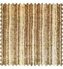 Dark coffee brown yellow color vertical stripes water drops texture gradients polyester base fabric main curtain