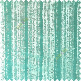 Aqua blue color vertical stripes water drops texture gradients polyester base fabric main curtain