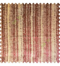Brownish purple color vertical stripes water drops texture gradients polyester base fabric main curtain