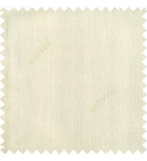 Cream color complete plain texture gradients designless cotton finished with polyester base fabric sheer curtain