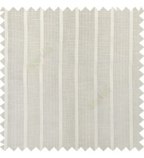 Cream color vertical thick stripes texture gradients horizontal lines with transparent polyester background fabric sheer curtain
