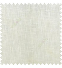 Off White color complete plain texture gradients designless cotton finished with polyester base fabric sheer curtain