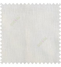Off white color complete plain geometric square shapes texture gradients designless cotton finished with polyester background sheer curtain