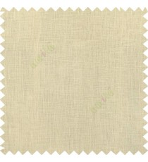 Beige color complete plain texture gradients designless cotton finished with polyester base fabric sheer curtain