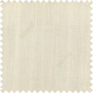 Beige color complete plain geometric square shapes texture gradients designless cotton finished with polyester background sheer curtain