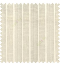 Beige color vertical thick stripes texture gradients horizontal lines with transparent polyester background fabric sheer curtain