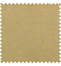 Copper brown color complete plain texture gradients designless cotton finished with polyester base fabric sheer curtain