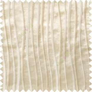 Beige cream color vertical flowing lines texture with thick polyester background main curtain