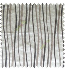 Black grey white color vertical flowing lines texture with thick polyester background main curtain