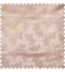Grey color traditional floral texture patterns shiny base polyester fabric embroidery designs main curtain