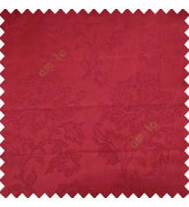 Maroon color beautiful rose flower texture finished designs shiny polyester base background leaves flower buds elegant look main curtain