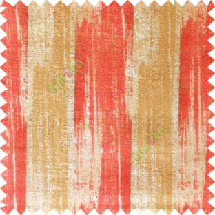 Red cream gold color vertical stripes texture designs colorful lines with thick polyester background main curtain