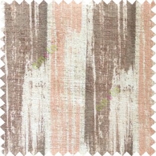 Brown cream peach color vertical stripes texture designs colorful lines with thick polyester background main curtain