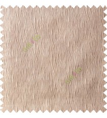 Beige color complete texture patterns vertical embossed lines texture gradients polyester background main curtain
