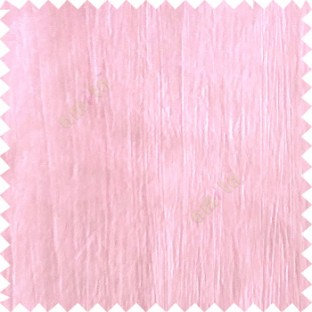 Baby pink color vertical texture lines crushed pattern embossed texture polyester background horizontal stripes curtain fabric
