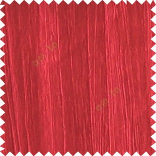 red color vertical texture lines crushed pattern embossed texture polyester background horizontal stripes curtain fabric