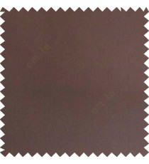 Dark chocolate brown color complete plain texture surface slant lines polyester background main fabric