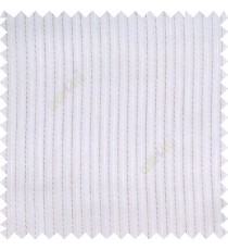 White brown color vertical coil stripes texture background with transparent polyester base fabric sheer curtain