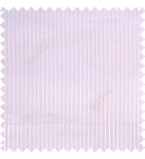 White color vertical bold texture stripes with transparent polyester base fabric sheer curtain