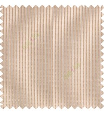 Brown color vertical bold texture stripes with transparent polyester base fabric sheer curtain