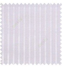White color vertical bold texture gradients stripes horizontal lines with transparent polyester fabric sheer curtain