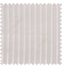Half white color vertical bold texture gradients stripes horizontal lines with transparent polyester fabric sheer curtain