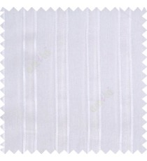 White color vertical texture gradients with thick borders small dots polyester base transparent fabric sheer curtain