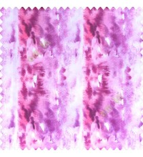 Abstract colorful purple cream pink color vertical color flowing bold lines watercolor print color swatches random colors poly fabric main curtain