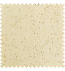 Beige color texture finished embossed designs stones and gravels small dots rain drops horizontal lines  polyester main curtain fabric