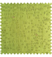 Green color texture finished embossed designs stones and gravels small dots rain drops horizontal lines  polyester main curtain fabric