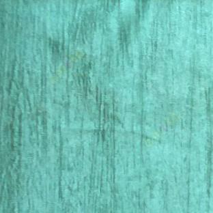 Aqua blue color embossed texture vertical stripes main curtain