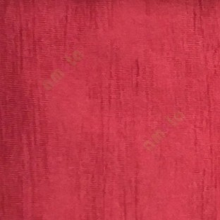 Red color embossed texture vertical stripes main curtain